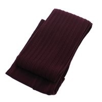 Wholesale Thick Girls Pantyhose - Wholesale-Autumn Winter Hosiery Women Girls Sexy Polyester Thick Stripe Tights Pantyhose