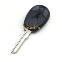 schlüssel fernbedienung für positron großhandel-2 Tasten Ersatz Remote Autoschlüssel Fall Shell Fob für Fiat Positron EX300 mit GT15 Klinge mit Logo