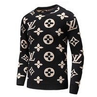 Wholesale Fleece Fabric Animal - The embroidered cashmere fabrics designed by men's sweaters in winter 2017, word fawn embroidery high-quality new brand men sweaters
