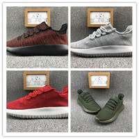 Wholesale Roll Up Shoes - high quality male female tubular shadow knitting core cardboard 350 Boost multi-color monthly rock and roll leisure sports shoes size 36-45