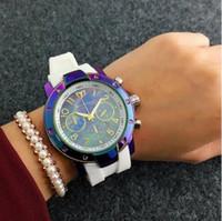 Wholesale marines sports - French Luxury brand high quality Technomarine watch Multifunctional quartz outdoor sports Marine version Unisex silicone watch style black