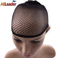 Wholesale Snood Net For Hair - Hot Black Mesh Hair Cap For Wigs Wig Caps For Weaving Wholesale Nets For Wigs women Snood Breathable Nylon Hairnets