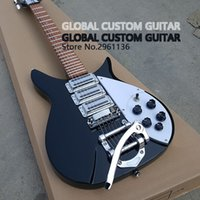 Wholesale 325 Black - 325 electric guitar Wholesale and retail High quality Three pickup electric guitar Real photos free shipping standard size