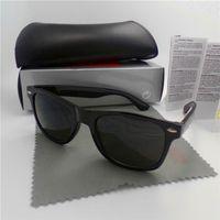 yüksek marka güneş gözlüğü toptan satış-Yüksek kalite Marka Tasarımcı Moda Erkekler Güneş Gözlüğü UV Koruma Açık Spor Vintage Kadınlar Güneş Gözlüğü Retro Gözlük kutusu ve ...