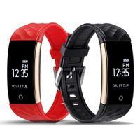 Wholesale S2 Original - Original S2 Smart Band Wristband Bracelet Heart Rate Pedometer Sleep Fitness Tracker Bluetooth 4.0 IP67 Waterproof Smartband TW64 Watch