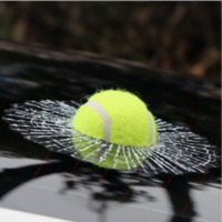 Großhandel-Lustige 3D Auto Aufkleber Nette Ball Decals Spider Web Tennis Baseball Basketball Fußball Form Window Paster Dekoration