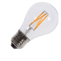 Wholesale clear bulbs resale online - Clear w w led filament dimmable lamps indoor bulbs widely used popular filament bulb with e27 b22