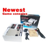 2017 Mini TV Video Handheld Game Console Sistema de entretenimento Built-in 500 Classic Games For For Nes Games PALNTSC