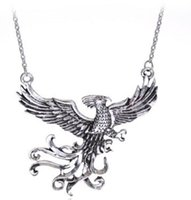 Wholesale women phoenix jewelry resale online - Harry Holy Grail Necklace phoenix Bronze Plated Cup Pendant Necklaces For Women Men Vintage Potter Jewelry Valentine s Gift Accessories