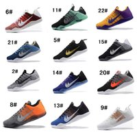 Wholesale Muse Black - Men Kobe 11 EM Mamba Day Basketball Shoes Muse Easter Last Emperor Black White Lakers White Black Green Purple Blue All Star Sneakers