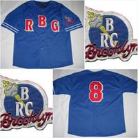 Wholesale Official Logo - Men's Brooklyn Royal NLBM Jersey 3xl Official NLBM Apparel Negro League baseball Throwback Stitched Embroidery Logos Baseball Jerseys