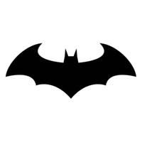 ingrosso decalcomanie in vinile di batman-16.5 * 6.8CM Classic Batman Dark Knight Vinyl Car Styling Decal Adesivi per auto moto