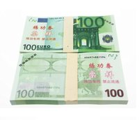 Wholesale EUR Training Money EURO for props and Education bank staff training paper fake money Copy money Childen Gift