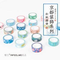 Wholesale New Scrapbooking Supplies - Wholesale- 2016 15mm*7m new Colorful kawaii Fresh Style can tear Washi Tape DIY photo Scrapbooking Sticker Label Masking Tape Office Supply
