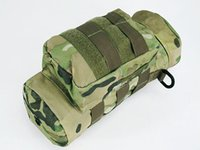 Molle Zipper Tactical Water Bottle Pouch Utility Medic Pouch Kettle Package Outdoor Canteen Travel Bag