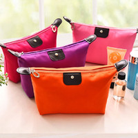 dc5d2d79797 High Quality Lady MakeUp bag Pouch Cosmetic Make Up Bag Clutch Hanging  Toiletries Travel Kit Jewelry Casual Purse DHL free shipping