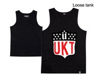Wholesale Hip Hop Clothing Free Shipping - Wholesale- unkut tank top men vest loose summer free shipping new design unkut mens tee shirt hot sale stylish hip hop clothing sleeveless