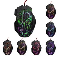 Wholesale Mouse X5 - gaming mouse computer mouse wired USB X5 game mouse gamer 5500 DPI adjustable 7D laser LED optical for advancedl gamer