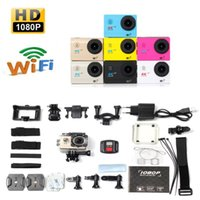 Wholesale HD P WIFI Action Camera Camcorder Remote Control Full HD P WIFI H9R Waterproof Remote