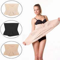 Wholesale Postnatal Support - Postpartum Belly Wrap Pregnancy Recovery Girdle Corset Waist Band Belt Postpartum Postnatal Recoery Support Girdle Belt
