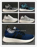 Wholesale Free Boot Pattern - (With Box) Wholesale NMD 4 Boost Primeknit Fish-scale pattern PK Sports Boot Shoes Sneaker High quality Men Casual Shoes Free Shipping 40-45