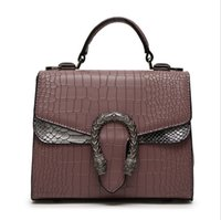 Wholesale Long Strap Shoulder Tote Bags - PU Leather Handbags Designer Bags for Women New Arrival Serpentine Pattern Tote Bags with Long Strap