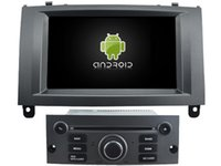 Wholesale Car Dvd Player Gps Peugeot - Navirider new octa core android 6.0 car dvd player audio for Peugeot 407 gps navigation radio stereo 3G wifi dvr BT headunit tape recorder