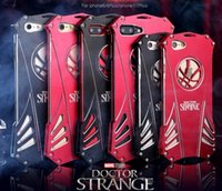 Wholesale Doctor Iphone Cover - Phone Case for iPhone 6 6s 6 plus 6s plus 7 7 plus Metal Aluminum Singular doctor Phone Cover Free Shipping