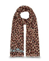 Wholesale Leopard Pashmina Scarf - High Quality Luxury classic Leopard cotton pashmina scarf shawl Gold Silver thread women silk scarf metal printing scarf wraps