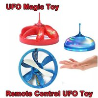 LED Light Magic Infrarouge IR Induction UFO Hélicoptère Flottant Volant Infrarouge Capteur Enrouleur Quadcopter Drone Noël Cadeau Jouets