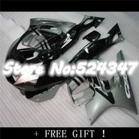 Wholesale Low Priced Cbr Fairings - ABS low price gray black fairing kit for CBR600 97 98 CBR 600 1997 1998 F3 fairings custom motorcycle parts with