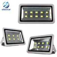nakliyeci toptan satış-Drop shipping 300 W 400 W 500 W Led Projektörler Peyzaj Aydınlatma IP65 LED Sel Işık sokak Lambası spot sokak ışık açık