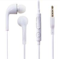 Wholesale earphones plug cell phone online – 3 mm Earphone S3 In ear Metal Plug Flat Noodle Headphone Headset For Samsung S7edge s6edge ipod Tablet PC Free DHL