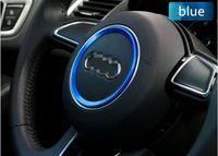 Wholesale Wholesale Wheel Trims - Dedicated to Audi A3A4LQ3Q5A1A5A7S3S5S7TT steering wheel trim, bright lap, sequins interior trim