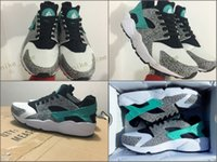 Wholesale Elephant Print Laces - New Air Huarache Run Ultra Running Shoes Atmos Elephant Print Huaraches Men And Women Sneakers Fashion Huraches Sports Shoes Size 36-45