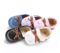 Wholesale Toddler Girls Shoes China - Free shipping baby shoes wholesale!0-18 M girls toddler shoes,Tassel princess single shoes,soft kids shoes,china shoes!9pairs 18pcs.SX