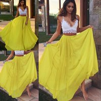 Wholesale Flare Maxi Skirt - Stylish Pure Color Chiffon Skirts 2017 New Arrival High-Waist Flared Maxi Skirt For Pretty Women Sexy Street Style Summer Skirts Free Shippi