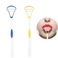 Wholesale Dental Gels - Personal Care Tongue Cleane Brush Debtal Care Breath Free Gel Sample Dental Tongue Scraper