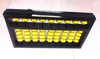 Wholesale Educational Tools Mathematics - Wholesale- 9 column hangering plastic Abacus Chinese soroban Tool In Mathematics Education for teacher calculation tool xmf007