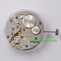 armbanduhren großhandel-Großhandels- Uhrenteile, 17 Juwelen 6497 mechanische Handaufzug Vitage Uhrwerk ST3621, Mens mechanische Armbanduhr Teil