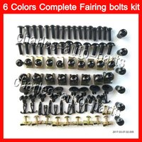 Wholesale 96 Cbr F3 Fairing Kits - Fairing bolts full screw kit For HONDA CBR600F3 95 96 97 98 CBR600 F3 CBR 600 F3 1995 1996 1997 1998 Body Nuts screws nut bolt kit 13Colors