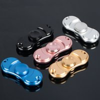 Wholesale Linear Toys - Metal Tir-Spinner Toy Findget Fidget Hand Spinner Rotation Time Long Autism and ADHD Kids Adult Funny Anti Stress Toys linear