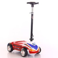 Wholesale Carriage Drive - Children electric car four wheel scooter 2-3-4-5 years old electric toy battery baby carriage dual drive PP10
