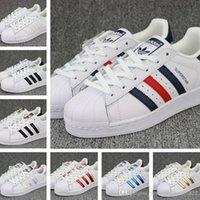Briefs adidas Unisex Wholesale 2017 Best Qualiyt Men Women Lover Originals  Superstar Trainer Shoes White Black