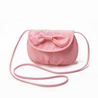Wholesale Change Cover Bag - Wholesale-2015 New Bow Women Mobile Phone Bags Fashion Small Change Purse Cute Shoulder Bags Candy Color Mini Messenger Bag