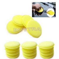 Wholesale foam applicators - Wholesale- 12 PCS Fashion Waxing Polish Wax Foam Sponge Applicator Pads For Clean Cars Vehicle