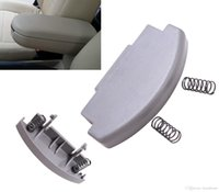Gray Car Center Console Armrest Repair Latch Clip Lid Covers PARA VW Jetta Bora PASSAT B5 Car-styling # P63
