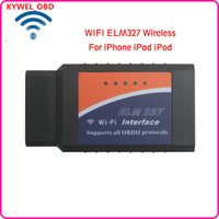 ELM327 WiFi OBD OBD2 EOBD ferramenta de diagnóstico de diagnóstico do carro para PC iPhone iPad Android