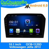 Wholesale Volkswagen Bluetooth Kit - Ouchuangbo car audio head unit gps navi android 6.0 for Volkswagen Jetta 2013 support 3G Wifi BT SWC 1080P video