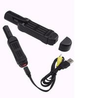 grabadora de video corporal al por mayor-Full HD 1080 P Mini DV Cámara del cuerpo del bolsillo Salida de TV Cámara de la pluma Registrador de la reunión Mini cámara Grabadora de video de voz negro T189